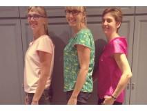 Workshop blouse: klaar, tijd om te showen.
