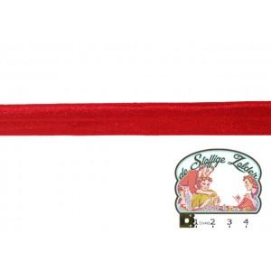 Elastisch biais blinkend rood