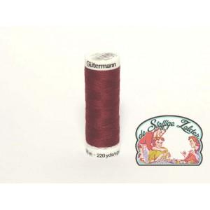 stikzijde bruin-rood n°369