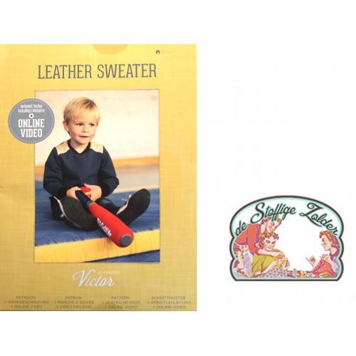 patroon LMV Leather Sweater