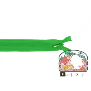 Blinde rits 22cm groen