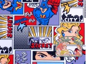 Superheroes canvas