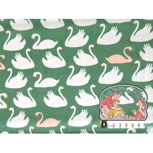 Swan lake cotton