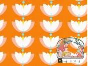 Lotus drop orange