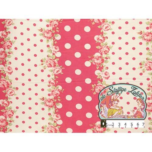 Roosjes en polka dots