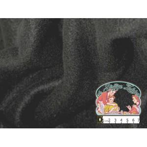 Effen zwarte fleece