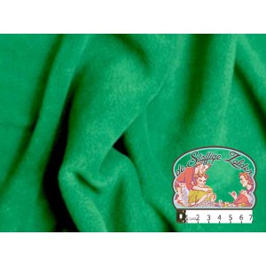 Effen donkergroene fleece