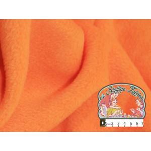 Effen oranje fleece