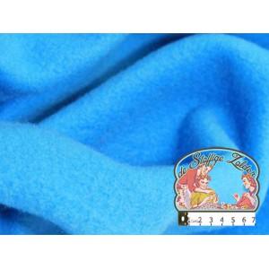 Effen turquoise fleece