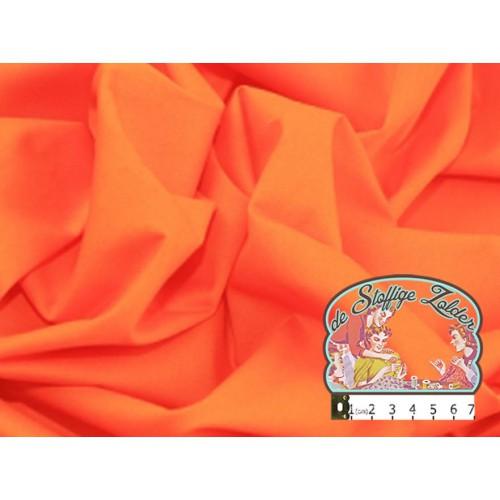 Effen oranje katoen