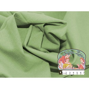 Effen groen linnenlook