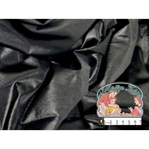 Effen zwart satijn