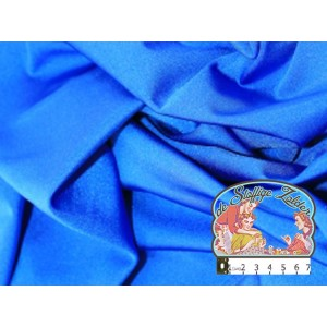 Effen blauwe satijn
