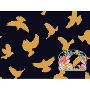 Birds navy/oker