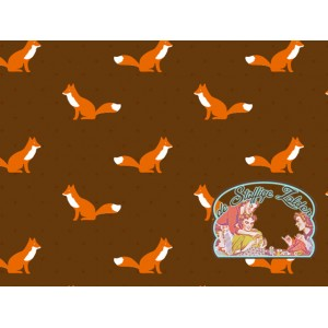Little fox brown with dots