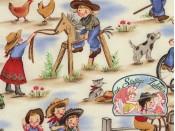Lil cowgirls cotton