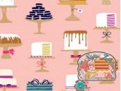 Sweet cakes cotton