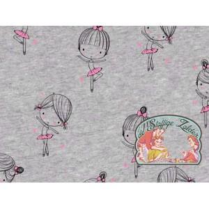 Ballerina roze glitter tricot