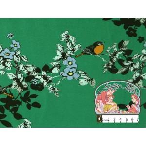 Mies&Moos roodborstjes groen