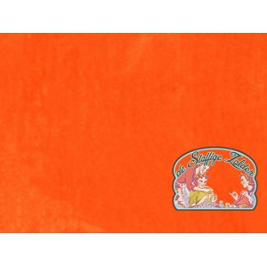 Wortel oranje coral fleece