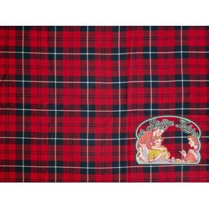 Schotse ruit tartan rood katoen