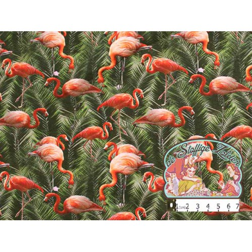Flamingo tricot palm