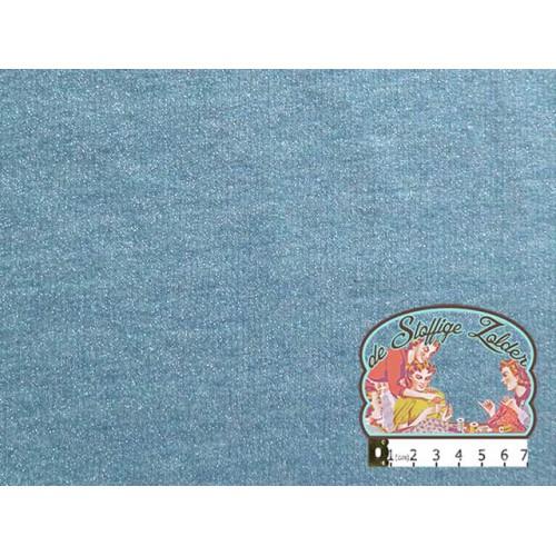 Glamour sweater petrolblauw