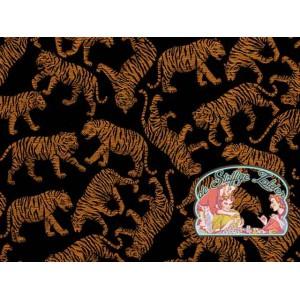 Bengaalse tijgers geweven jacquard