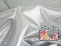 Rex silver leatherette
