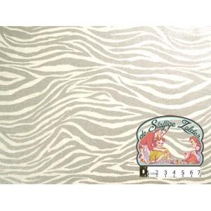 Heavy Metal silver zebra