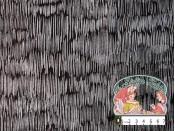 Refinery silver stripe black