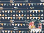 Indianenstijl navyblauw