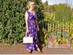 The copy-paste wedding party dress (and barrel bag)