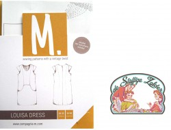 patroon Compagnie M Louisa dress tieners en volwassenen