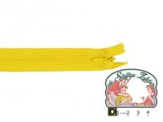 Blinde rits 22cm geel