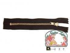 Broekrits koper 12cm zwart