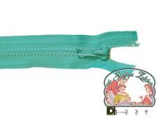 Deelbare rits 35cm blauw