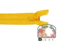 Deelbare rits 35cm geel