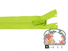 Deelbare rits 35cm groen