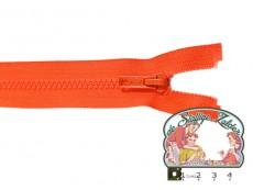 Deelbare rits 35cm oranje