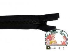 Deelbare rits 35cm zwart