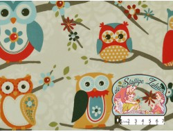 Perched owl espresso