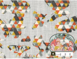Flutter folds spark in knit