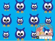 Blauwe uilen