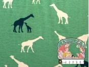 Giraffen groen