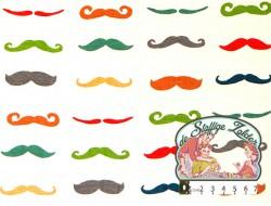 Moustache knit