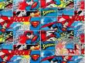 Superman comic cotton