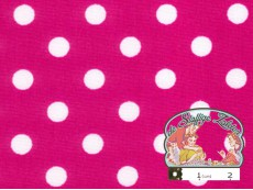 Candy met witte polka dots