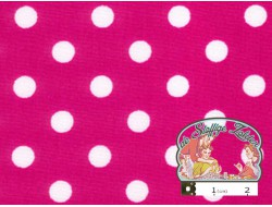 Candy met witte polka dots