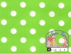 Limoen met witte polka dots
